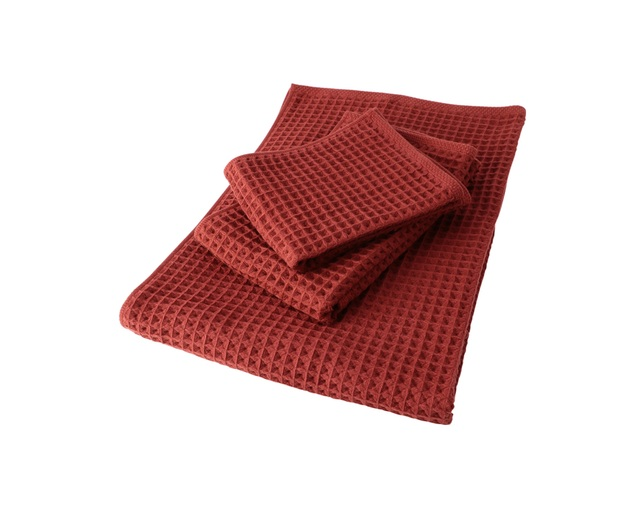 ザ・コンランショップ(THE CONRAN SHOP) CONRAN WAFFLE&GAUZE BATH TOWEL 68X130の写真