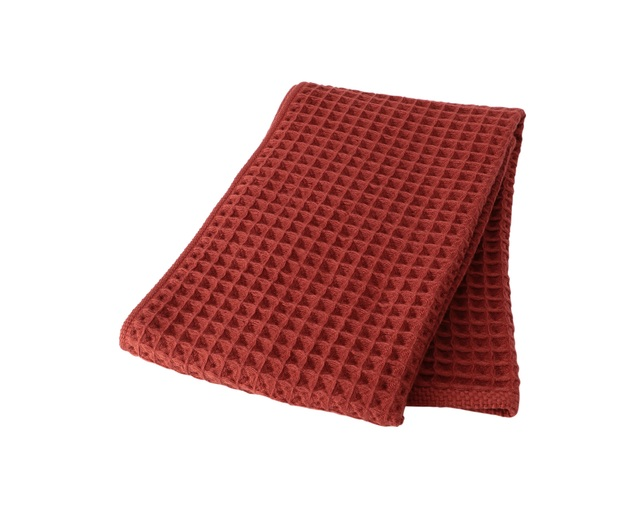 ザ・コンランショップ(THE CONRAN SHOP) CONRAN WAFFLE&GAUZE FACE TOWEL 34X80 の写真