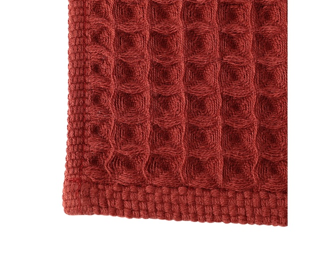 ザ・コンランショップ(THE CONRAN SHOP) CONRAN WAFFLE&GAUZE HAND TOWEL 34X35の写真
