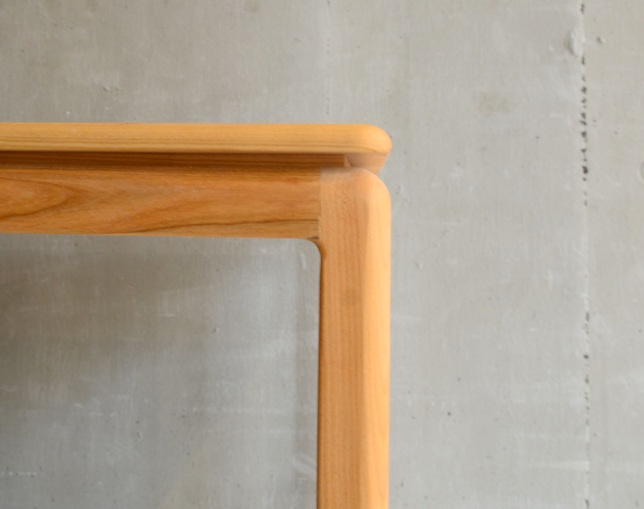 ANP interior design Superfly Table(Wild Cherry/White Ash)の写真