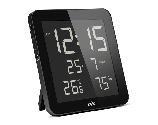 BRAUN(ブラウン) Digital Wall Clock BNC014BK-NRCの写真