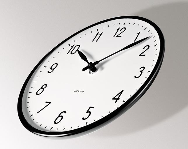 ローゼンダール(ROSENDAHL) ARNE JACOBSEN Wall Clock Stationの写真