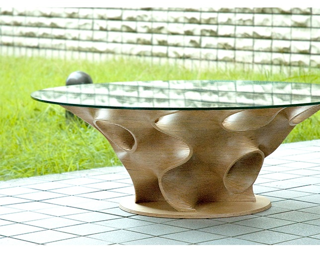 ホゾ(HOZO) Lowtable in the shape of lifeの写真