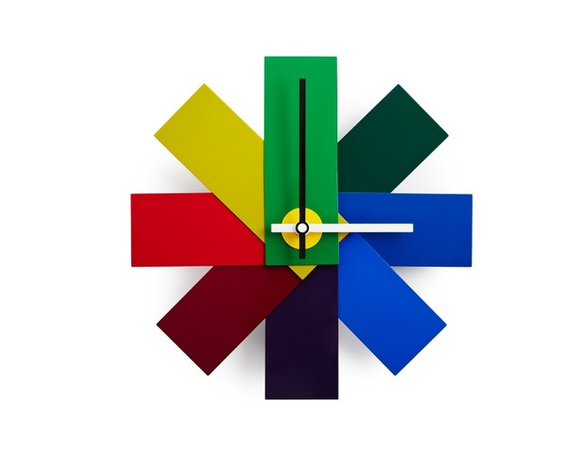 ノーマンコペンハーゲン(normann COPENHAGEN) Watch Me Wall Clock colorの写真