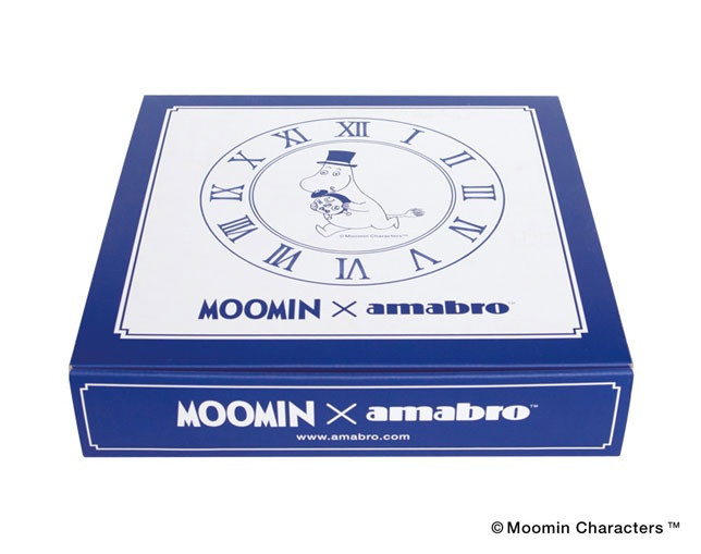 アマブロ(amabro) MOOMIN×amabro SOMETSUKE -CLOCK- / TIME GOES ON(Blue)の写真