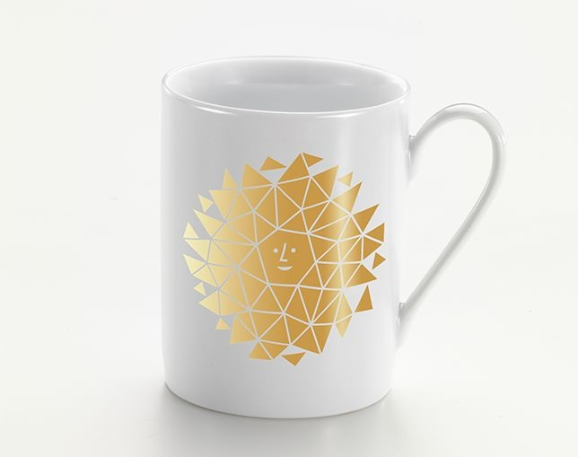 Vitra Coffee Mugs - New Sun, goldの写真