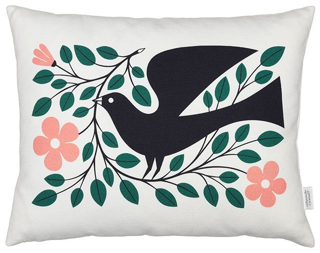 Vitra Graphic Print Pillow - Doveのメイン写真