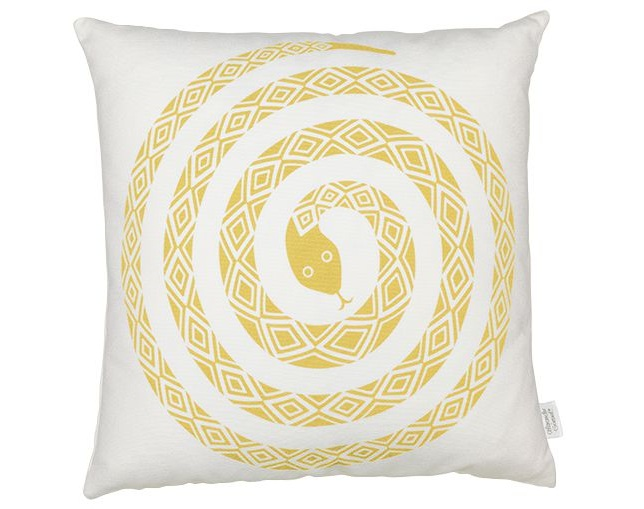 Vitra Graphic Print Pillow - Snakeのメイン写真
