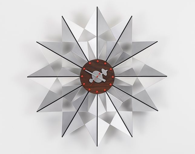 Vitra Wall Clock - Flock of Butterfliesの写真