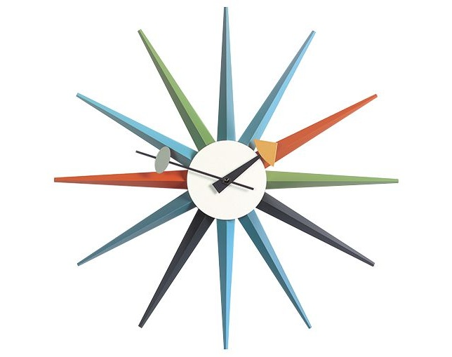 Vitra(ヴィトラ) Wall Clock - Sunburst Clockの写真