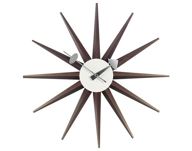 Vitra Wall Clock - Sunburst Clockのメイン写真