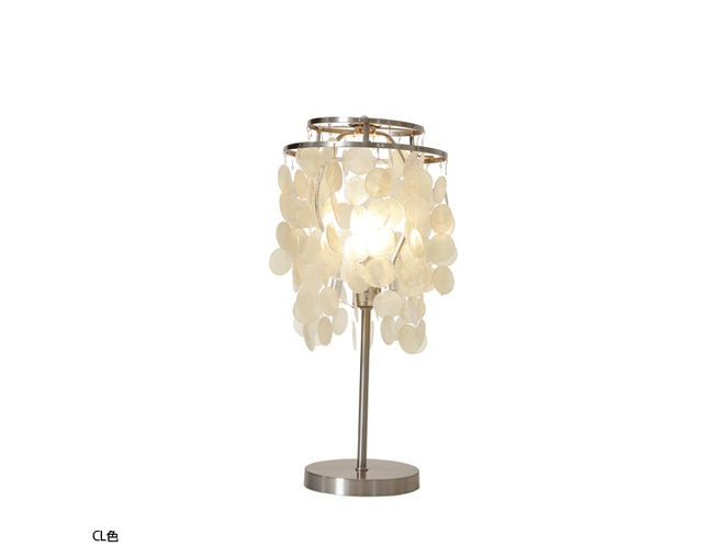 HERMOSA(ハモサ) SHELL TABLE LAMP MINIの写真