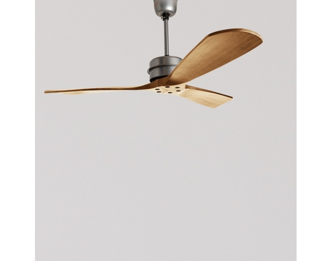 HERMOSA(ハモサ) BASQUE WOOD CEILING FAN の写真