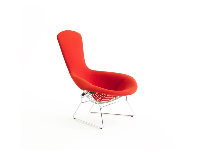 ノル(Knoll) Bertoia Collection Lounge Seating -High back Armchair-の写真