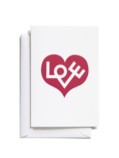 Vitra Greeting Cards(M) - Love Heartの写真