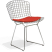 Knoll Bertoia Collection Side Chair with seat padの写真